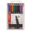 "STABILO Alkoholos marker, 1 mm, STABILO ""OHPen M"",  8 különböző szín"