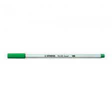 STABILO Ecsetfilc STABILO Pen 68 Brush zöld filctoll, marker