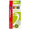 STABILO GreenColors színes ceruza készlet, 12 szín