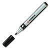 STABILO Mark-4-all alkoholos marker vágotthegyű fekete 653/46
