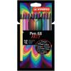 """STABILO Rostirón készlet, 1 mm, STABILO """"Pen 68 ARTY"""", 12 különböző szín"""