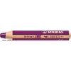 """STABILO Színes ceruza, kerek, vastag, STABILO """"Woody 3 in 1"""", lila"""