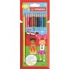 """STABILO Színes ceruza készlet, hatszögletű, STABILO """"Color"""", 12 különböző szín"""