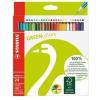 """STABILO Színes ceruza készlet, hatszögletű, STABILO """"GreenColours"""", 24 szín (TST601924)"""
