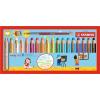 """STABILO Színes ceruza készlet, kerek, vastag, STABILO """"Woody 3 in 1"""", 18 különbözõ szín+"""