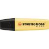 """STABILO Szövegkiemelő, 2-5 mm, STABILO """"Boss"""", pasztell sárga (TST70144)"""