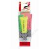 STABILO Szövegkiemelő készlet, 2-5 mm, STABILO Neon, 4 különböző szín (TST7241)