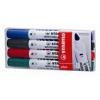 """STABILO Táblamarker készlet, 1-5 mm, vágott, STABILO \""""Plan\"""", 4 különböző szín [4 db]"""