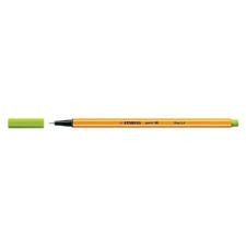 """STABILO Tűfilc, 0,4 mm, STABILO """"Point 88"""", almazöld filctoll, marker"""