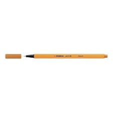 """STABILO Tűfilc, 0,4 mm, STABILO """"Point 88"""", okkersárga filctoll, marker"""