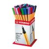 """STABILO Tűfilc display, 0,4 mm,  """"Point 88 Mini"""", vegyes színek"""