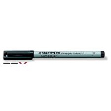 """STAEDTLER Alkoholmentes marker, OHP, 0,6 mm, STAEDTLER """"Lumocolor 316 F"""", fekete filctoll, marker"""