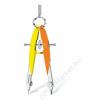 STAEDTLER Körző készlet, precíziós, 2 darabos, STAEDTLER Mars Comfort Neon, neon sárga/narancs (TS55600N3)