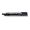 """STAEDTLER """"Lumocolor 388"""" 2-12 mm vágott fekete alkoholos marker"""