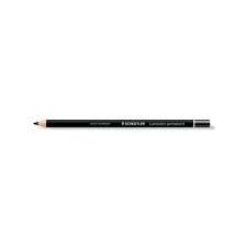 """STAEDTLER Színes ceruza, henger alakú, mindenre író, (glasochrom) STAEDTLER """"Lumocolor"""", fekete színes ceruza"""