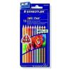 STAEDTLER Színes ceruzák &quot,Noris Club Jumbo&quot, készlet 10 szín