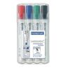 """STAEDTLER Táblamarker készlet, 2,5 mm, vágott, STAEDTLER """"Lumocolor 351 B"""", 4 különböző szín"""