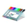 """STAEDTLER Tűfilc készlet, 0,3 mm, STAEDTLER """"Triplus Box"""", 20 különböző szín"""