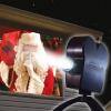 Star Shower varázslatos ünnepi filmvetítő 12 fény dekorációval