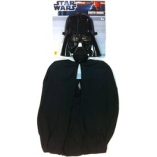 Star Wars: Darth Vader álarc és köpönyeg jelmez