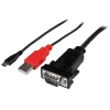 Startech ANDROID MICRO USB SERIAL CABLE .