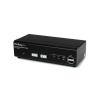 StarTech com Startech.com KVM Switch 2PC USB VGA (SV231USBDDM)