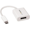 StarTech com USB-C TO DISPLAYPORT ADAPTER 1920X1200 24P M/20P DP F OUT