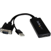 StarTech com VGA TO HDMI ADAPTER W/ AUDIO .