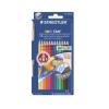 Steadtler Staedtler Akvarell ceruza készlet ecsettel 12 szín