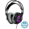 SteelSeries Siberia 200 Headset Sakura Purple Headset,2.0,3.5mm,Kábel:1,2m,32Ohm,10Hz-28000Hz,Mikrofon,Sakura Purple