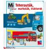 Stefanie Steinhorst Teherautók, markolók, traktorok - Mi Micsoda Junior 26.