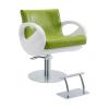 Stella Salon Oscar zöld-fehér hidraulikus fodrász szék SX-635A