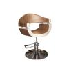 Stella szatén arany krém hidraulikus fodrász szék SX-2107