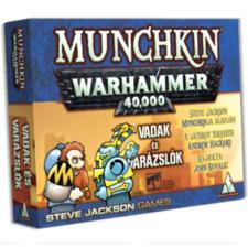 Steve Jackson Games Munchkin Warhammer 40,000 - Vadak és varázslók kiegészítő társasjáték
