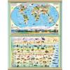 Stiefel A Föld növény és állatvilága 140 x 100