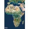 Stiefel Afrika a világűrből