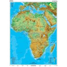 Stiefel Afrika, domborzati térkép térkép