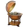 Stiefel Eurocart Kft. Bárföldgömb antik stílus (a gömb teteje oldalra nyitható jelenlegi határokkal)