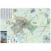 Stiefel Eurocart Kft. Békéscsaba térkép, keretezett