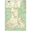 Stiefel Eurocart Kft. Hargita megye (Románia) térképe, fóliás-fémléces