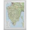 Stiefel Eurocart Kft. Isztria dombortérképe
