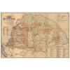 Stiefel Eurocart Kft. Magyarország borászati térképe faléces