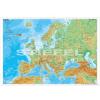 Stiefel Europe physical (angol Európa domborzati térkép)