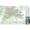Stiefel Hódmezővásárhely térkép tűzhető, keretezett
