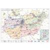 Stiefel Magyarország villamoshálózati fémléces térképe 100x70
