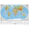 Stiefel The World physical (angol domborzati világtérkép)