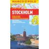 Stockholm vízhatlan várostérkép tömegközlekedéssel - Marco Polo