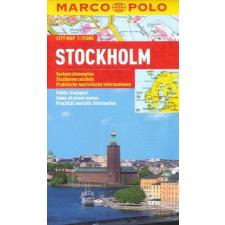 Stockholm vízhatlan várostérkép tömegközlekedéssel - Marco Polo térkép