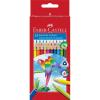 Stocktechnik Kft. Faber-Castell Színesceruza papagáj, háromszögletű 24db