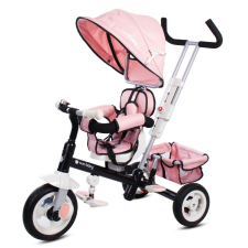 SUN BABY SuperTrike+ 360° tricikli - Rózsaszín tricikli